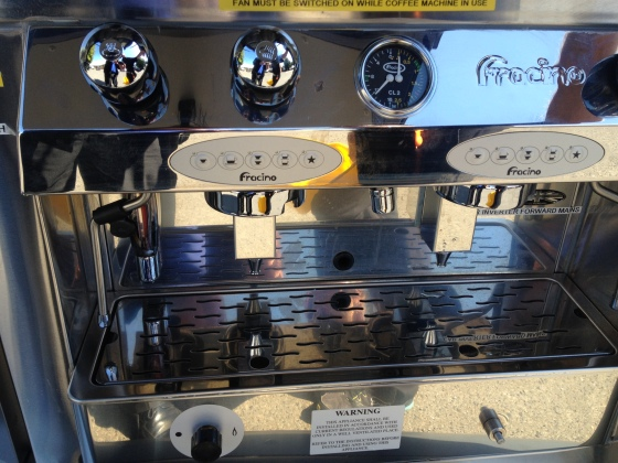 Mobile Coffee van franchise