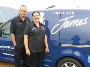 James Mobile coffee franchise